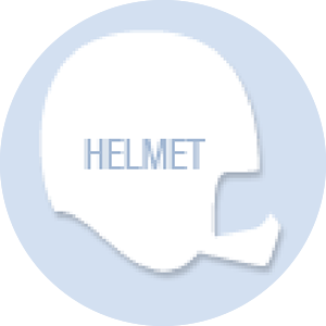 Helmet Shape Hand Fan