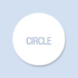 Circle Shape Hand Fan