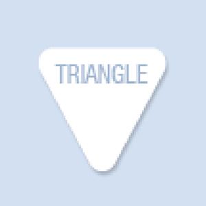 Triangle Shape Hand Fan