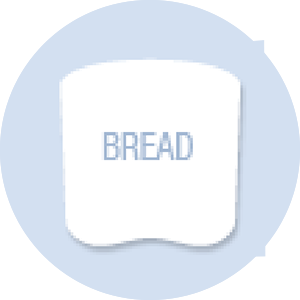 Bread Shape Hand Fan