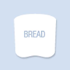 Bread Shape Hand Fan