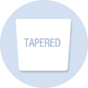 Tapered Shape Hand Fan
