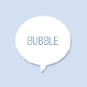Speech Bubble Shape Hand Fan