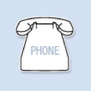 Phone Shape Hand Fan