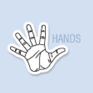 Hand Shape Hand Fan