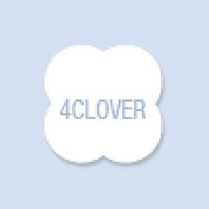Four Leaf Clover Shape Hand Fan