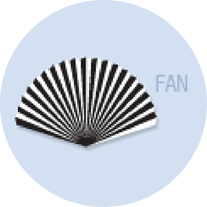 Fan Shape Hand Fan