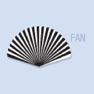 Fan Shape Hand Fan